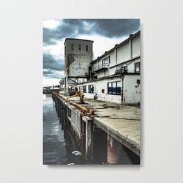 Harbor Lofoten - Norway Metal Print