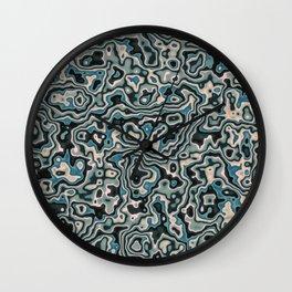 Liquid Neptune Wall Clock