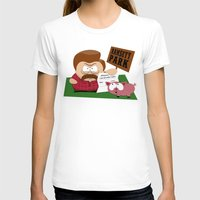 parks T-shirts featuring South Parks and Rec by JVZ Designs