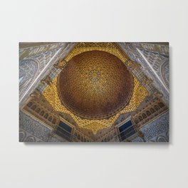Hall of the Half Orange Dome Metal Print
