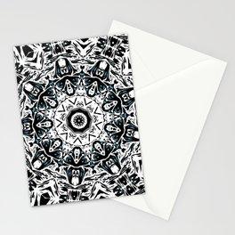 Floral Star Mandala Stationery Cards