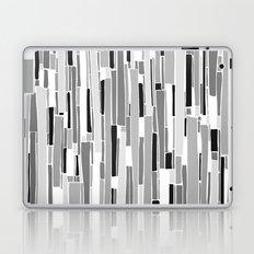 Stacked BW Laptop & iPad Skin