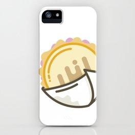 Arepa con Jamón y Queso iPhone Case