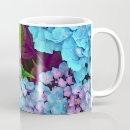 Hydrangea Pink and Blue Coffee Mug