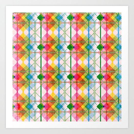 Constructive II Art Print