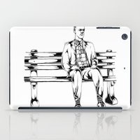 forrest gump iPad Cases featuring Forrest Gump by Christine S.
