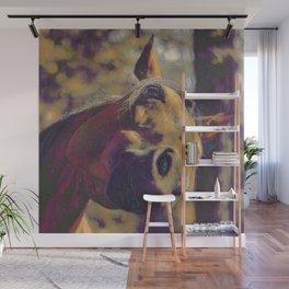 Curious Horse I Wall Mural