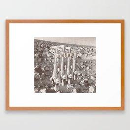 The End Of An Era Framed Art Print