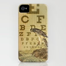 eye chart I iPhone (4, 4s) Slim Case