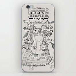 Traveling Carpet of Human Observation Center iPhone Skin