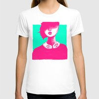 contemporary T-shirts featuring Contemporary Collar by Ben Geiger