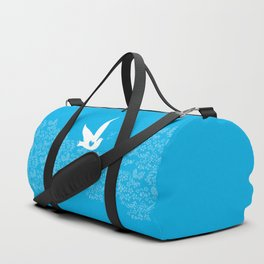 Wings of Love - Blue Duffle Bag