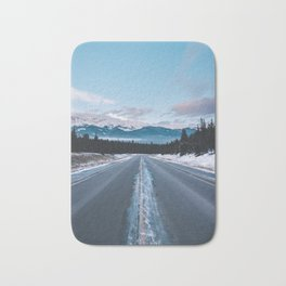 Icefields Parkway, AB II Bath Mat