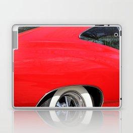 Classic Red Chevy Impala detail 1965 photo Laptop & iPad Skin