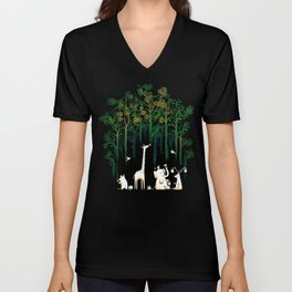 Re-paint the Forest Unisex V-Neck