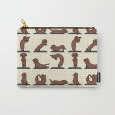 Dachshund yoga Carry-All Pouch