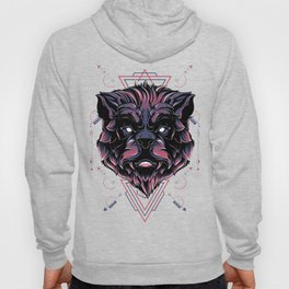 The Mythical Bear sacred geometry Hoody