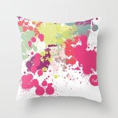 out splash Throw Pillow