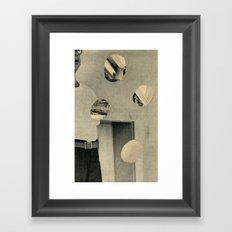 don't move Framed Art Print