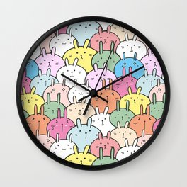 Kawaii Usagi Wall Clock
