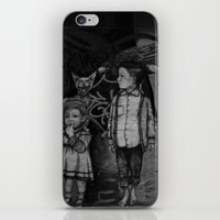 guardians iPhone & iPod Skins featuring Guardians by Taylor.Mac