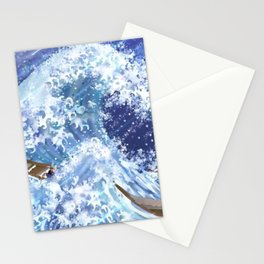 The Mighty Waves Stationery Cards