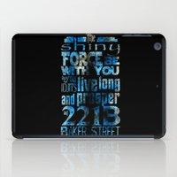 fandom iPad Cases featuring Fandom Motto by Tracey Gurney