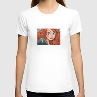 merida T-shirts featuring Merida by Genevieve Kay