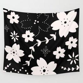 Dark Sakura 2018 Wall Tapestry
