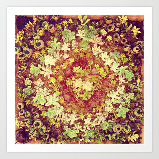 mini garden Art Print