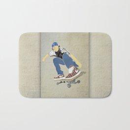 Skateboard 1 Bath Mat