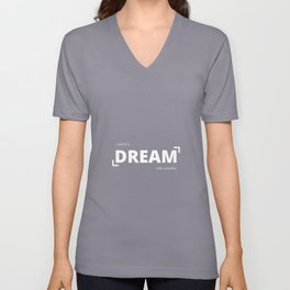 A Goal Is A Dream With A Deadline  Unisex V-Neck