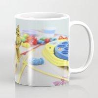 crown Mugs featuring Crown by Faith Buchanan