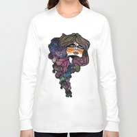 pisces Long Sleeve T-shirts featuring Pisces by annabours