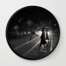 Streets of Kolkata Wall Clock