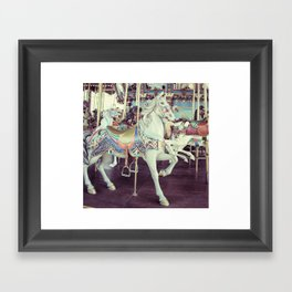 Horse of a different color! Framed Art Print