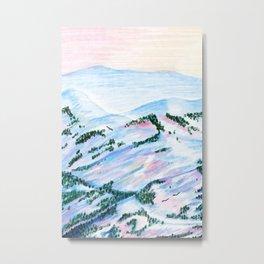 Mountain Scene I Metal Print