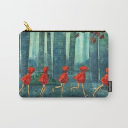Five Little Red Riding Hoods 1 Carry-All Pouch