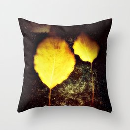 I'll be your leaf  Throw Pillow