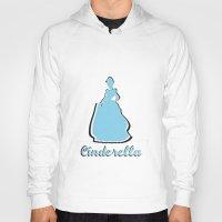 cinderella Hoodies featuring Cinderella by husavendaczek