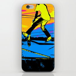 """Air Walking""  - Stunt Scooter iPhone Skin"