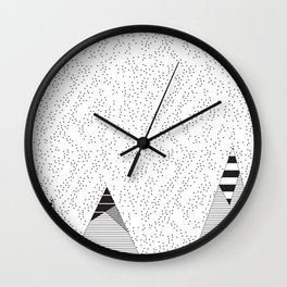 Mountain HD Wall Clock