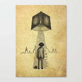 Take Me To Your Reader Canvas Print