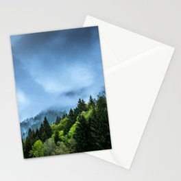 Landscape fog #society6 Stationery Cards