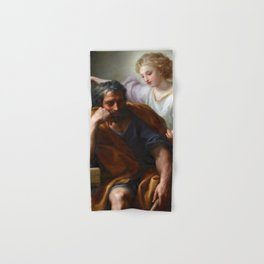 The Dream of St. Joseph by Mengs (1774) Hand & Bath Towel