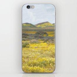 Mega Bloom Central California, Carrizo Plain National Monument iPhone Skin