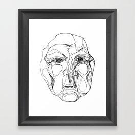 Widow's Bark Framed Art Print