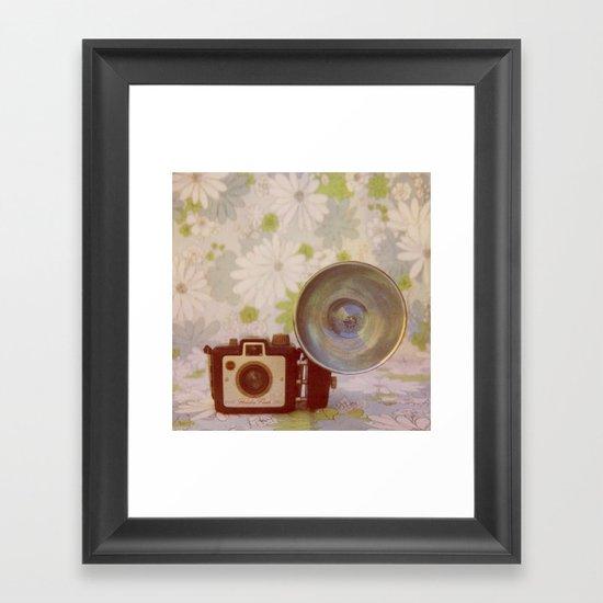 Holiday Flash Framed Art Print