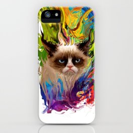 grumpys rich inner world iPhone Case