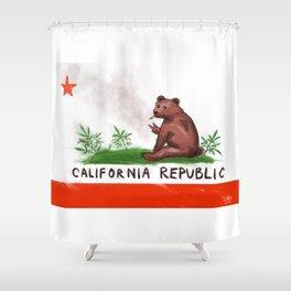 Smokey Bear Shower Curtain
